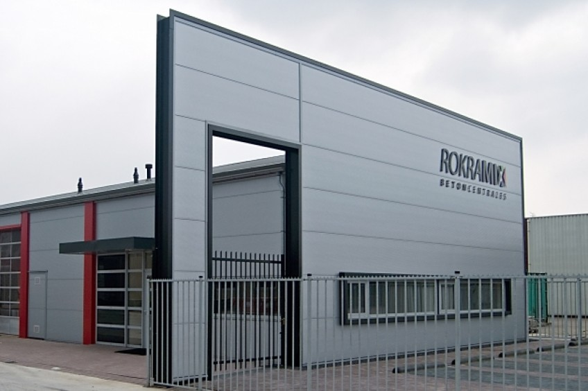 Foto bij Rokramix betoncentarale